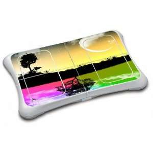 DAY & NITE Design Wii Fit Balance Board Vinyl Skin Decal Cover Sticker