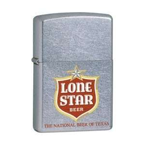 Zippo Lone Star Street Chrome #24290