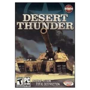 Desert Thunder Windows Xp Compatible Cd Rom Computer Game