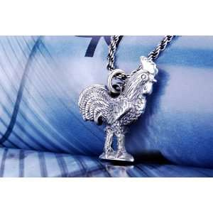 Rooster Pendant Evil Spirit Mens Jewelry Fashion Animal