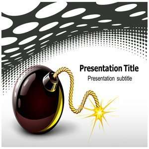 Bomb Powerpoint Templates   Bomb Powerpoint (Ppt) Backgrounds