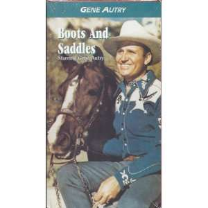 Boots and Saddles [VHS] Gene Autry, Smiley Burnette
