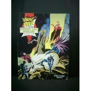 GHOST RIDER and the Midnight Sons Magazine (Vol. 1 #1