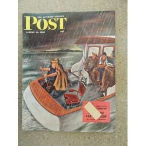 The Saturday Evening Post Magazine August 31,1946 (Cover Only) cover