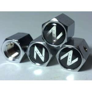 Nissan Z Anti theft Car Wheel Tire Valve Stem Caps