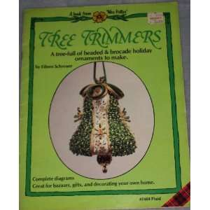 Tree Trimmers A Tree full of Beaded & Brocade Holiday