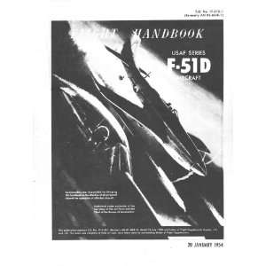 North American Aviation F 51 D Aircraft Flight Manual: North