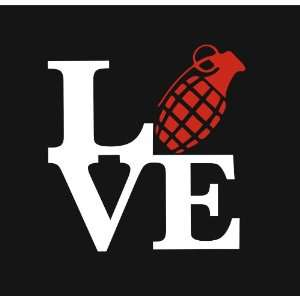 Love Grenade Love Park Vinyl Decal Sticker Everything