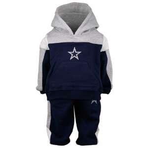 Dallas Cowboys Navy Blue Toddler Offside Fleece Hoody