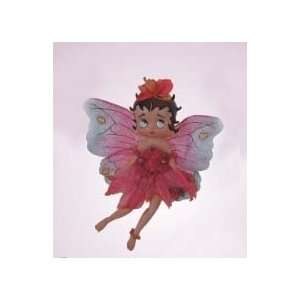 6 Betty Boop Magical Rose Fairy Christmas Ornament #8096