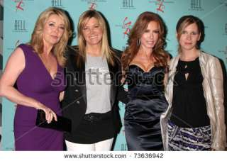 ANGELES   MAR 18: Melody Thomas Scott, Maria Bell, Tracey E. Bregman