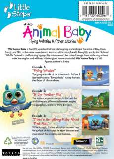 Wild Animal Baby FLYING WHALES + Stories Childrens DVD