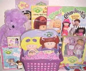 NEW CABBAGE PATCH KIDS TOY EASTER basket doll TOYS art