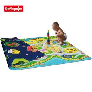 town  Dwinguler Kids Playmat, baby play mat, baby rug, kids rug, baby