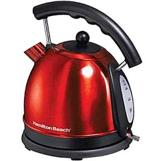 Hamilton Beach 10 Cup Electric Kettle   Red  Meijer