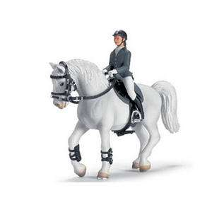 Schleich Farm Horse 42020 STABLE SHOW JUMPING SET New