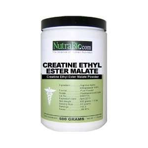 NutraBio CEEM   Creatine Ethyl Ester Malate 500mg   1000