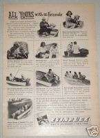 1947 EVINRUDE OUTBOARD MOTOR..FIRST IN OUTBOARDS AD