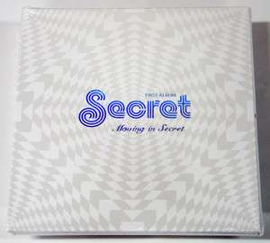 SECRET   Moving In Secret (1st Album) CD+Wall Poster