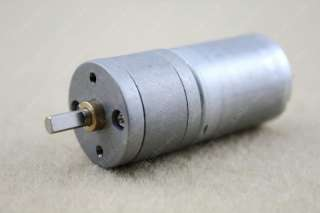 12V DC 80RPM Powerful High Torque Gear Box Motor
