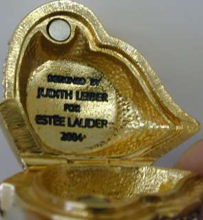 Estee Lauder Perfume Compact , Designed by Judith Leiber  2004