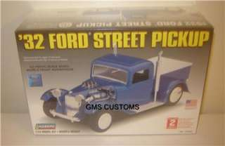 Lindberg 72330 1/24 1932 Ford Street Rod Pickup MIB