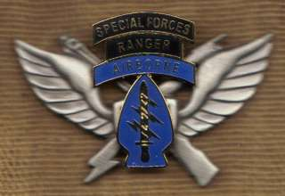 Special Forces Ranger Airborne Vietnam 1st Style Air Assault Badge