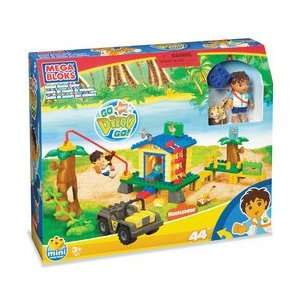 Mega Bloks: Diego Animal Rescue Center Playset: Toys & Games