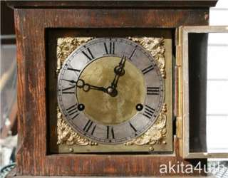 ANTIQUE WILCOCK MANTLE CLOCK   Keeps Time   NR
