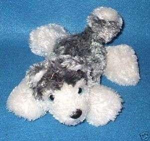Aurora Siberian Husky Dog Puppy Gray White Stuffed Toy