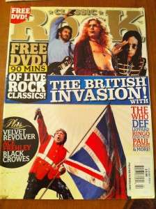 CLASSIC ROCK~MAGAZINE~2008~MUSIC~THE BRITISH INVASION
