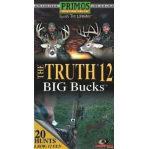 Supplies The Truth 12 Big Bucks Deer Video Sports & Outdoors