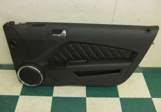 10 11 Ford Mustang Right Front Door Panel Driver Black