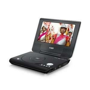 TFDVD7009    coby COBY 7 INCH PORTABLE DVD/CD/MP3 PLAYER: Electronics