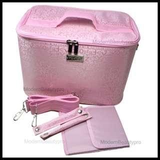 BEAUTY Box Bag Case MAKEUP COSMETIC NAIL ART TECHNICIAN TOOLS   Pink