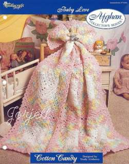 Cotton Candy Afghan, Baby Love crochet pattern
