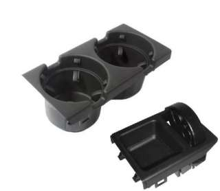 BMW OEM E46 Black Cup Holder & Coin Holder 323 325 328 330 M3