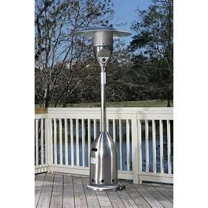 Fire Sense Stainless Steel Deluxe Patio Heater Patio