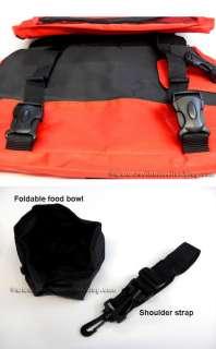 dog pet saddle bag backpack size large for outdoor travel hiking