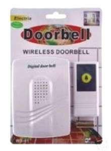 WIRELESS DOOR BELL EMERGENCY ALERT WIRELESS PAGER UNIT