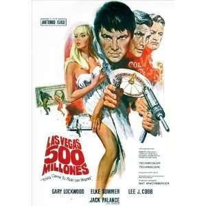 Gary Lockwood)(Elke Sommer)(Lee J. Cobb)(Jean Servais)(Georges Géret