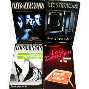 Set of 4 Lois Duncan Books (Killing Mr. Griffin, Summer of