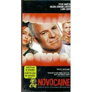 Novocaine [VHS] Chelcie Ross, Steve Martin, Laura Dern, Lynne Thigpen