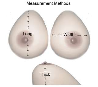 you are get 1 pair of high quality silicone breast form