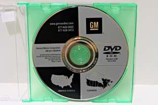 GM CHEVROLET CADILLAC GMC NAVIGATION DVD YUKON TAHOE SIERRA SUBURBAN