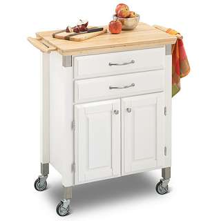 Dolly Madison Prep and Serve Kitchen Cart, White Furniture