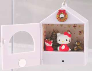 Sanrio Hello Kitty Xmas Mini House Music & Lights