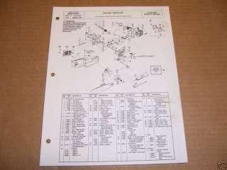 1517) Poulan Chain Saw Parts List Model 1800, 2000