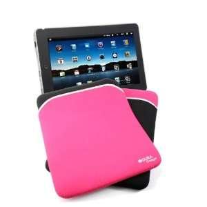 & Pink Reversible Neoprene Zip Case For Epad FlyTouch 3 Electronics