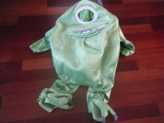 MONSTERS INC. MIKE WAZOWSKI KIDS HALLOWEEN COSTUME